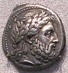 Tetradrachm coin of Philip II, king of Macedon at My Favourite Planet