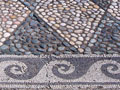 Pebble floor mosaic, Pella, Macedonia, Greece at My Favourite Planet