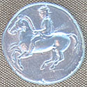 Coin of King Archelaos of Macedon at My Favourite Planet