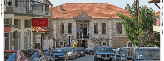 The Town Hall (Dimarcheion) of Polygyros, Halkidiki, Macedonia, Greece at My Favourite Planet
