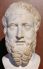 Portrait of Herodotus at My Favourite Planet