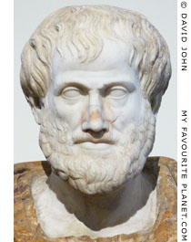 Marble bust of Aristotle, Rome