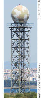 Thessaloniki Airport radar tower at My Favourite Planet