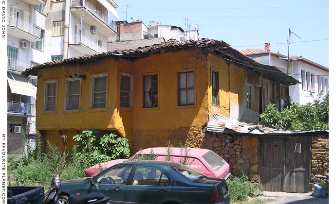 An old Ottoman-style house in the centre of Veria, Macedonia, Greece at My Favourite Planet