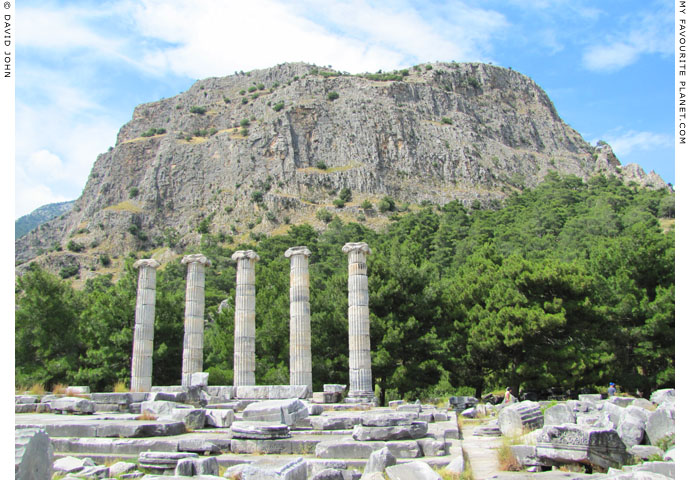 The Acropolis of Priene, Turkey at My Favourite Planet