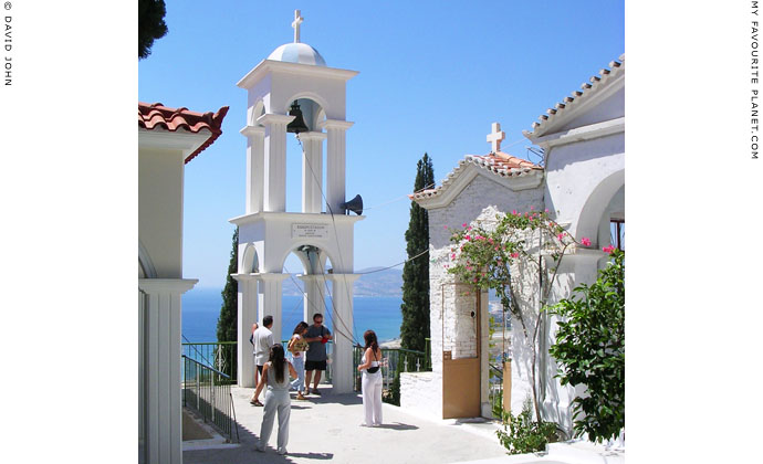 Panagia Spiliani Monastery, Pythagorio, Samos, Greece at My Favourite Planet