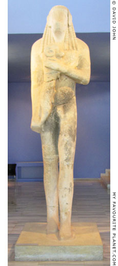 The Ram-Carrier of Thasos kouros statue at My Favourite Planet