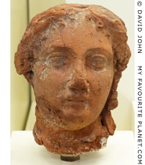 Terracotta head of Queen Arsinoe II of Egypt at My Favourite Planet