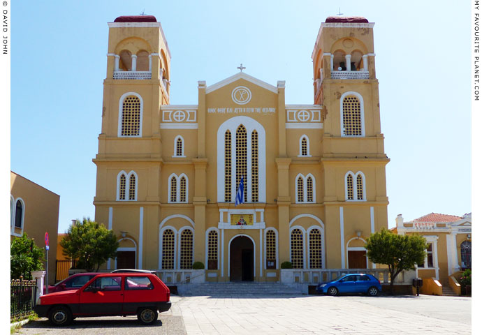 The cathedral church of Agios Nicholaos, Alexandroupoli, Thrace, Greece at My Favourite Planet