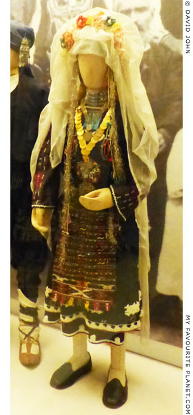 A traditional Thracian costume in the Ethnological Museum of Thrace, Alexandroupoli, Greece at My Favourite Planet