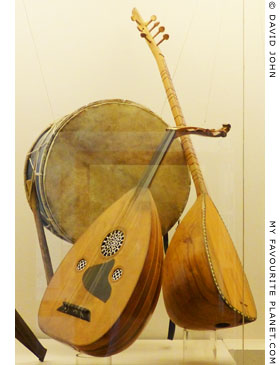 Traditional musical instruments in the Ethnological Museum of Thrace, Alexandroupoli, Greece at My Favourite Planet