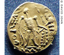 Tetradrachm coin of the Eastern Celts from Thrace at My Favourite Planet