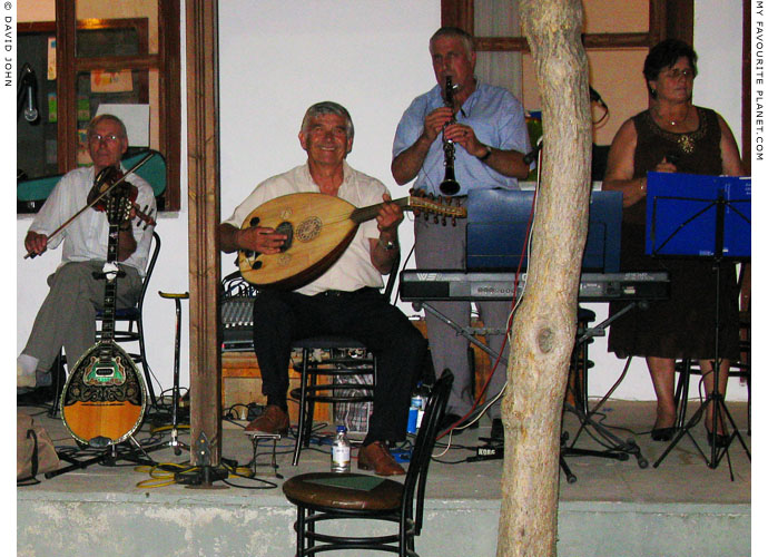 Thracian musicians playing traditional music, Thrace, Greece at My Favourite Planet