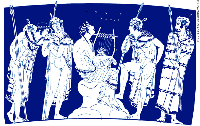 Orpheus among the Thracians at My Favourite Planet