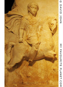 Relief of a Thracian rider at My Favourite Planet