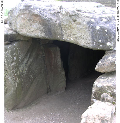 The entrance to West Kennet Long Barrow, Avebury, Wiltshire at My Favourite Planet