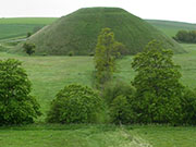 Silbury Hill, Wiltshire at My Favourite Planet