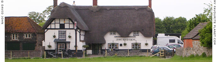 The Red Lion pub in Avebury, Wiltshire