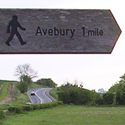 Signpost to Avebury, Wiltshire at My Favourite Planet