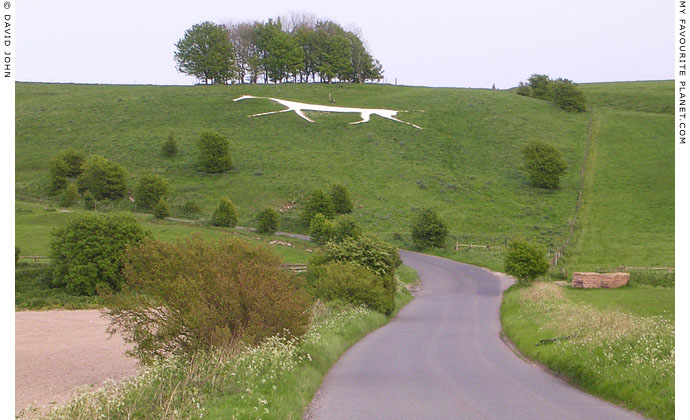 The Marlborough White Horse, Wiltshire at My Favourite Planet