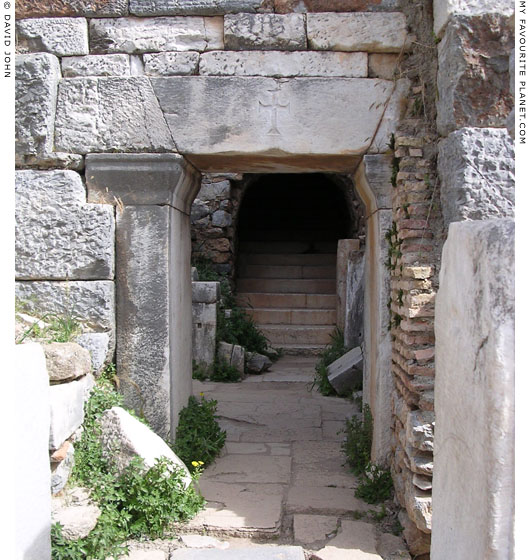 An entrance to the Odeion, Ephesus at My Favourite Planet
