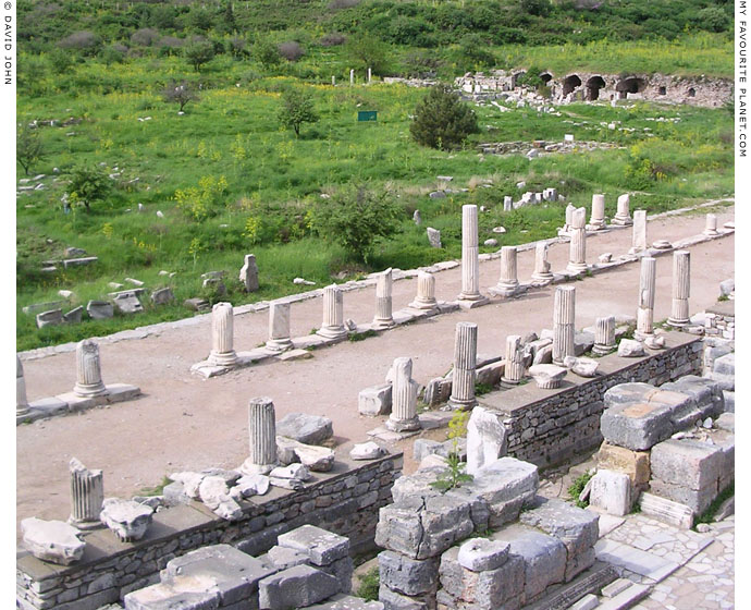 The Stoa Basilica in the Upper State Agora, Ephesus at My Favourite Planet