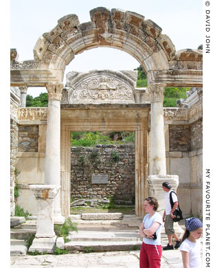 The Temple of Hadrian, Ephesus, Turkey at My Favourite Planet