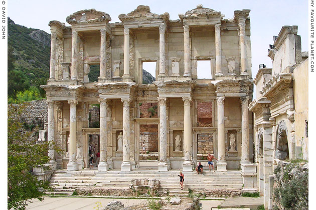 The Library of Celsus, Ephesus, Turkey at My Favourite Planet