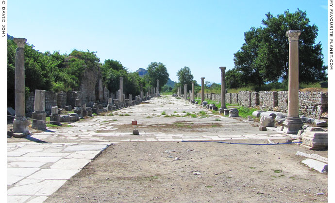 The Arcadian Way to the ancient harbour of Ephesus at My Favourite Planet