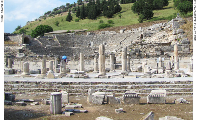 The Odeion or Bouleuterion in the Upper Agora, Ephesus at My Favourite Planet