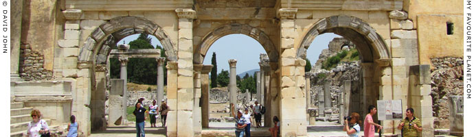 The Gate of Mazeus and Mithridates, Ephesus at My Favourite Planet