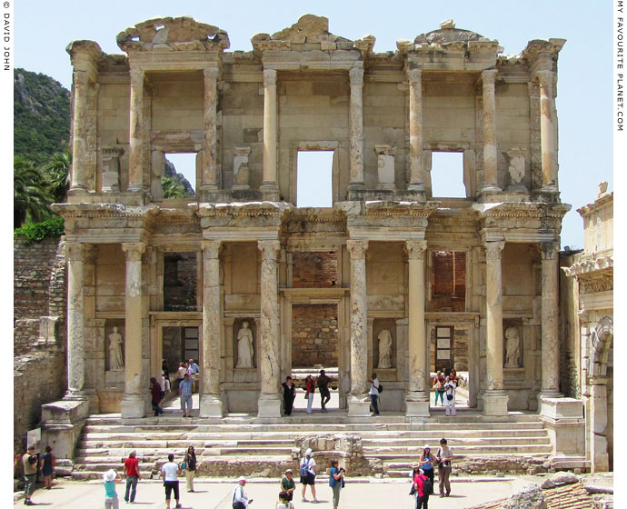 The Library of Celsus, one of the most popular attractions in Ephesus at My Favourite Planet