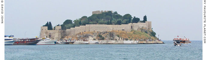 The Genoese fortress on Güvercin Ada (Pigeon Island), Kusadasi, Turkey at My Favourite Planet