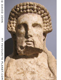 Head of Hermes from Amphipolis, Macedonia, Greece at My Favourite Planet