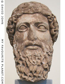 Head of a bearded god from Piraeus at My Favourite Planet