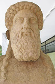Hermes herm in the National Archaeological Museum, Athens