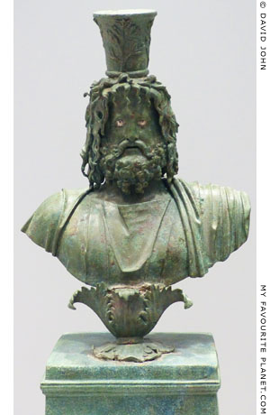 Bust of Serapis at My Favourite Planet