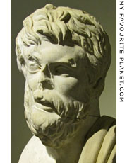 Bust of Xenophon of Athens at My Favourite Planet