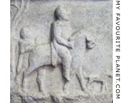 Detail of a Greco-Persian grave stele from Magnesia ad Sypilum (Manisa) at My Favourite Planet