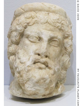 Head of Asklepios from Allianoi, near Bergama, Turkey at My Favourite Planet