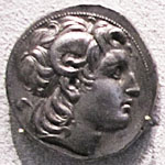 Tetradrachme coin of Lysimachos, king of Thrace at My Favourite Planet