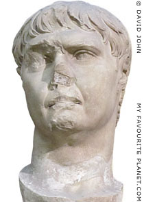 Colossal marble head of Roman Emperor Trajan from the Trajaneum, Pergamon at My Favourite Planet