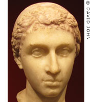 Portrait head of Cleopatra VII of Egypt at My Favourite Planet