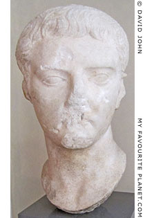 Portrait of Emperor Tiberius from Troy at My Favourite Planet