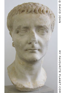 Portrait of Emperor Tiberius in the Altes Museum, Berlin at My Favourite Planet