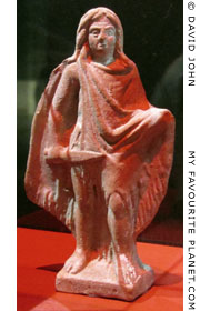Ceramic figurine of a Celtic warrior from Myrina at My Favourite Planet