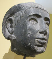 Head of a Ptolemaic king as Zeus Ammon at My Favourite Planet