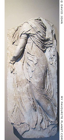 Dancing maenad at My Favourite Planet