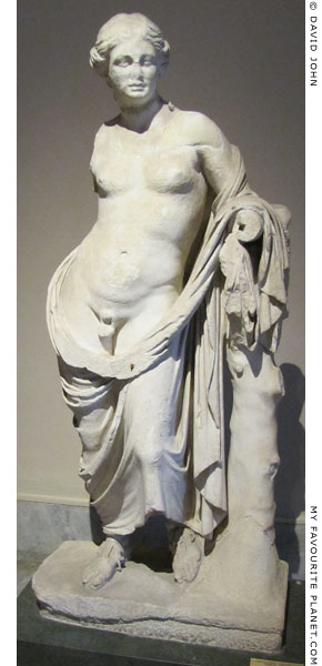 Statue of Hermaphroditus from Pergamon in full length at My Favourite Planet