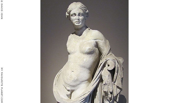 Statue of Hermaphroditus from Pergamon, Turkey at My Favourite Planet